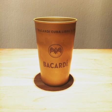 Glass Bacardi Cuba Libre Metal Cup