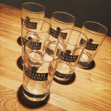 Lot de 6 verres William Lawson's Mini