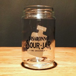 Glass Jar Amaretto Sour