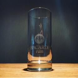 Verre Bacardi rum vintage