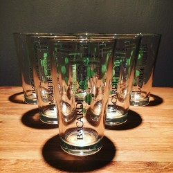6 Bacardi mojito collector Glasses