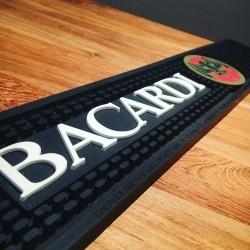 Tapis de bar Bacardi vintage modèle 1