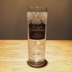 Verre Clan Campbell long drink givré