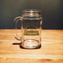 Glass Jar Jack Daniel's Lynchburg