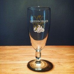 Set of 6 beerglasses Grimbergen 25cl vintage