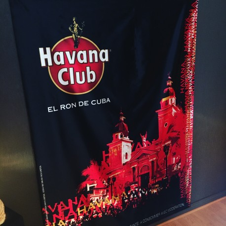Banderole Havana Club model 3 (serpentine-banner)