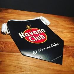 Banderole Havana Club vlaggen (serpentine-banner)