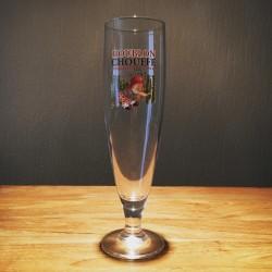 Glas bier Houblon Chouffe new