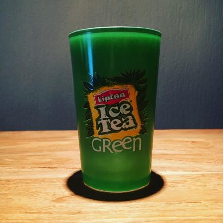 Glass  Ice Tea Green