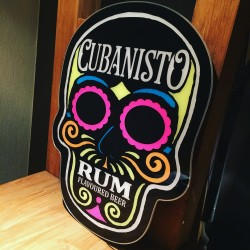 Illuminated Sign LED Cubanisto