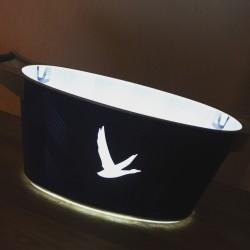 Ice bucket Grey Goose LED 4 bottles 2017 XL