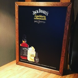 Chalkboard Jack Daniel's Lynchburg