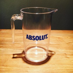 Pitcher Absolut vodka