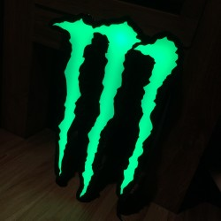 Enseigne Monster LED