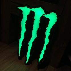 Lichtreclame Monster LED
