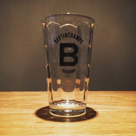 Glas bier Bertinchamps