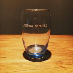 Glas Bombay Sapphire gebogen