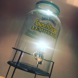 Bonbonnière avec robinet  Jack Daniel's Lynchburg