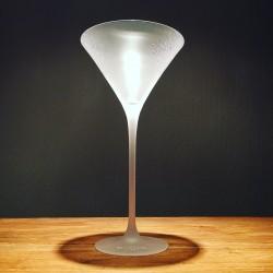 Verre Belvedere vodka sur pied