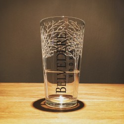 Glas Belvedere Vodka tumbler