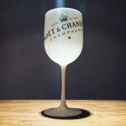 Glass Moët & Chandon Ice impérial PVC