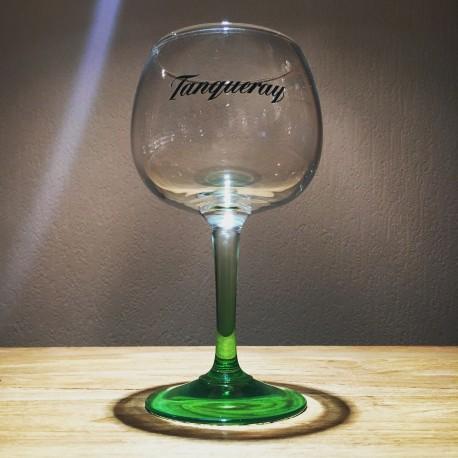 Glas Tanqueray zwarte logo