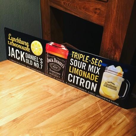 Plaque métallique Jack Daniel's Lynchburg