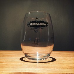 Glass Strongbow tumbler