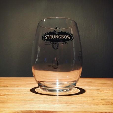 Verre Strongbow tumbler
