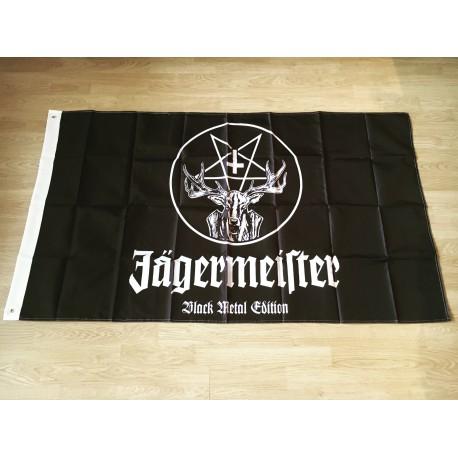 Drapeau Jägermeister Black Metal edition