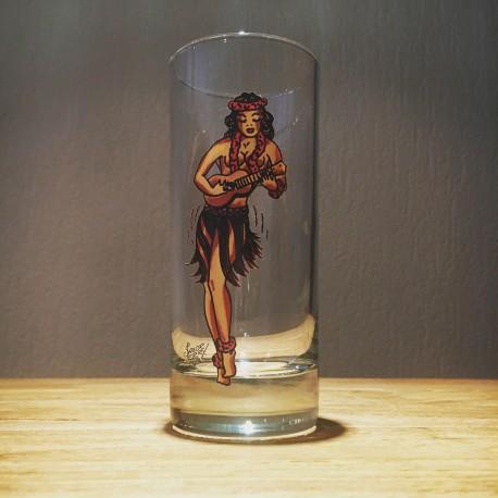 Glas Sailor Jerry long drink