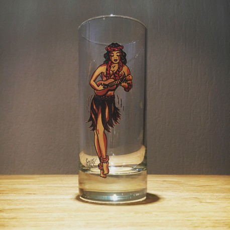 Verre Sailor Jerry long drink
