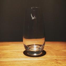 Glass Grey Goose tumbler