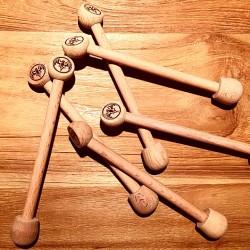 Mélangeur Touilleur Bacardi modèle bois x6