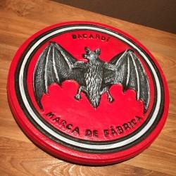 Iron plate Bacardi