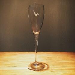 Glass Grey Goose flute