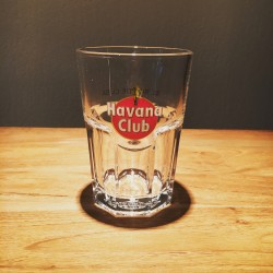 Glass Havana Club model mojito