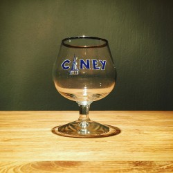Glass Beer Ciney tasting glass old ( galopin )