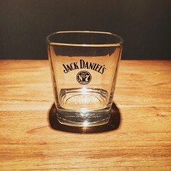 Glass Jack Daniel's Old7 on the rocks