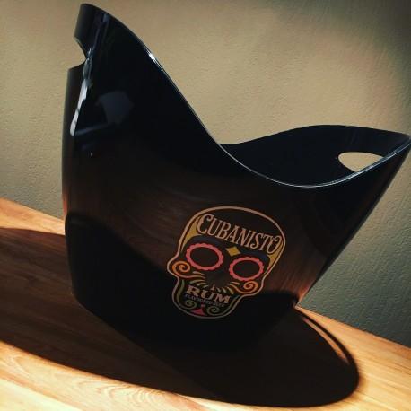 Vasque à glaçons Cubanisto PVC noir