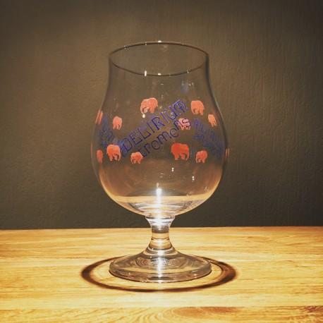 Glas Bier Délirium Tremens 50cl
