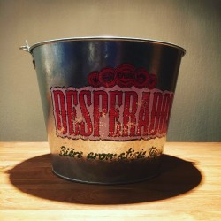 Ice bucket Desperados metal