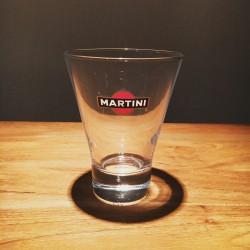 Glass Martini narrow bottom & wide top