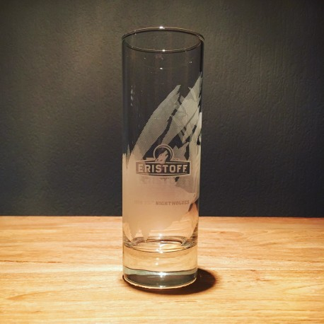 Verre Eristoff long drink 32cl griffe de loup