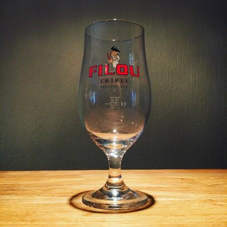 Verre bière Filou