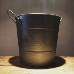 Bottle & Ice bucket Bacardi alu 1 bottle