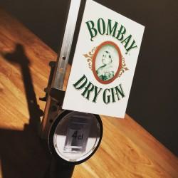 Doseur Bombay Dry Gin modèle 2 - 4cl