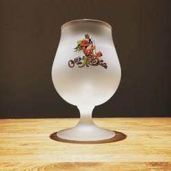 Glass beer Cuvée des Trolls vintage