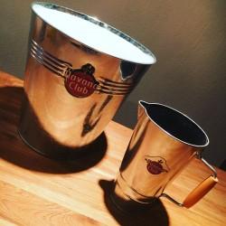 Bottle bucket Havana Club + metal pitcher