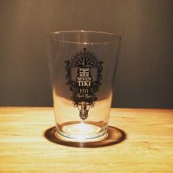 Glas Seven Tiki wijde top & zwart